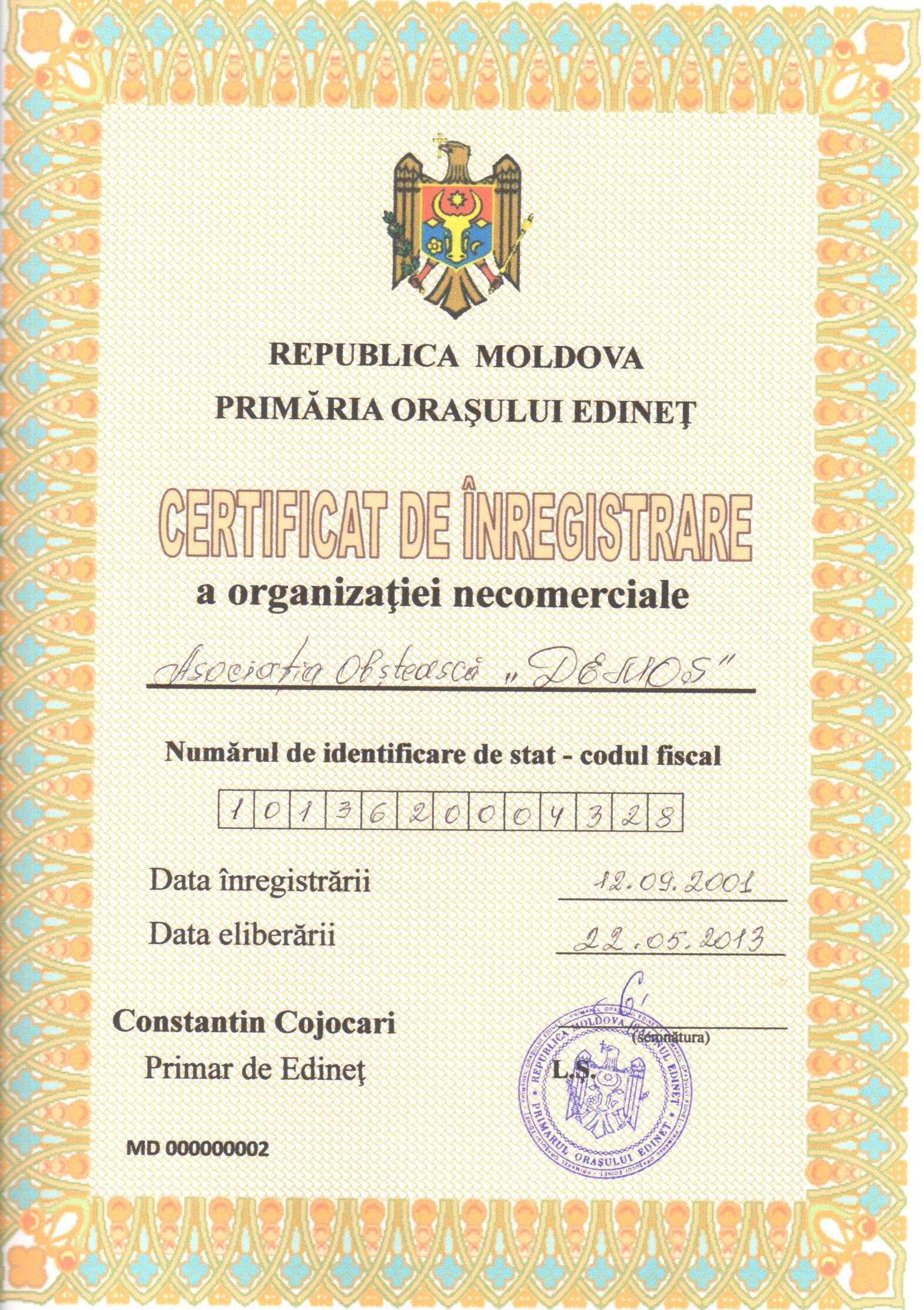 Copy of registration certificate_DEMOS